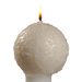 Aappo Suomalainen kynttilä kirkkokynttilä käsin valettu