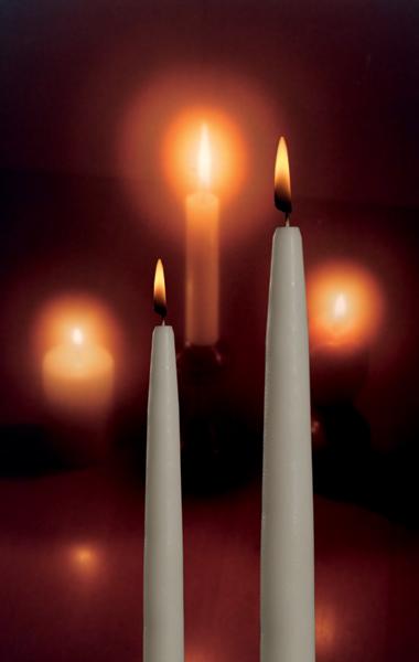 Antiikkikynttiläsarja Aappo suomalainen kynttilä